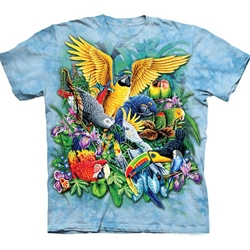 Birds of the Tropics Adult Plus Size T-Shirt 43-1035080