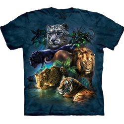 Big Cats Jungle Youth's T-Shirt 43-1533150