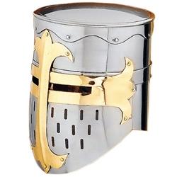 My Armor Store - Norman Knight Helmet - Flat Top Great Helm