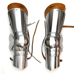 15th Century Leg Armor - 16 Gauge