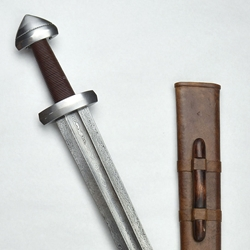 Birka Nordic Viking Sword with Damascus Blade,Birka Nordic Viking Sword,Damascus Viking Sword